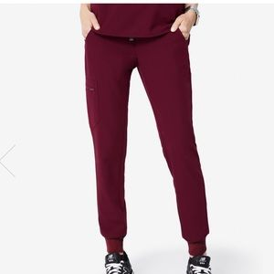 NEW Burgundy Jamora joggers